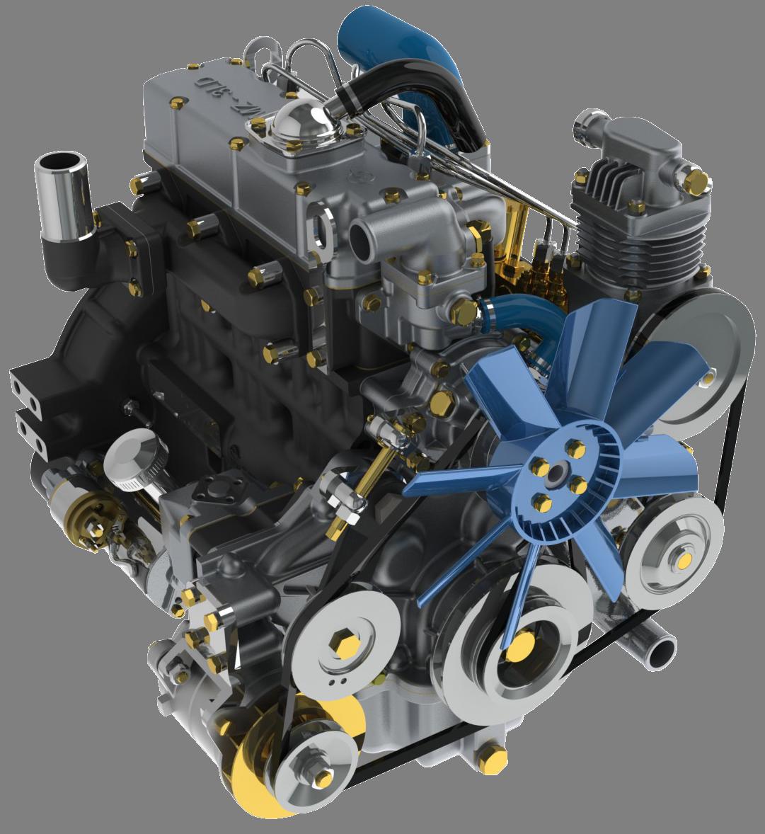 Двигатель для МТЗ-622