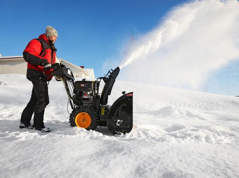 Эксплуатация снегоуборщика