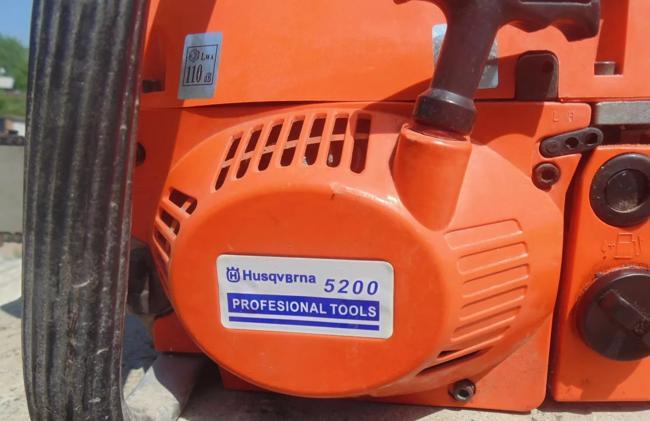 Хускварна 5200 - Китай