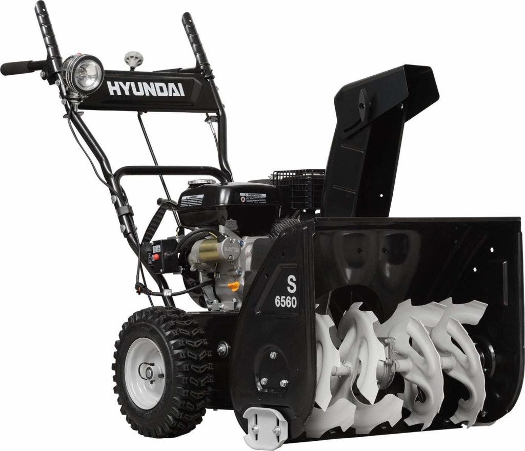 Бензиновый снегоуборщик Hyundai S 6560