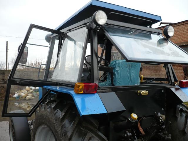 Новая кабина на трактор МТЗ-82
