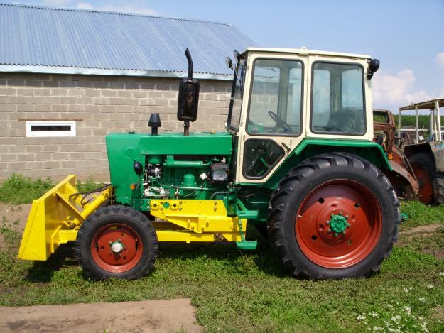 Самодельный трактор Бизон