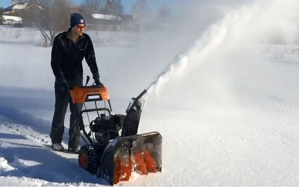 Снегоуборщик патриот ПРО 981 ЕD
