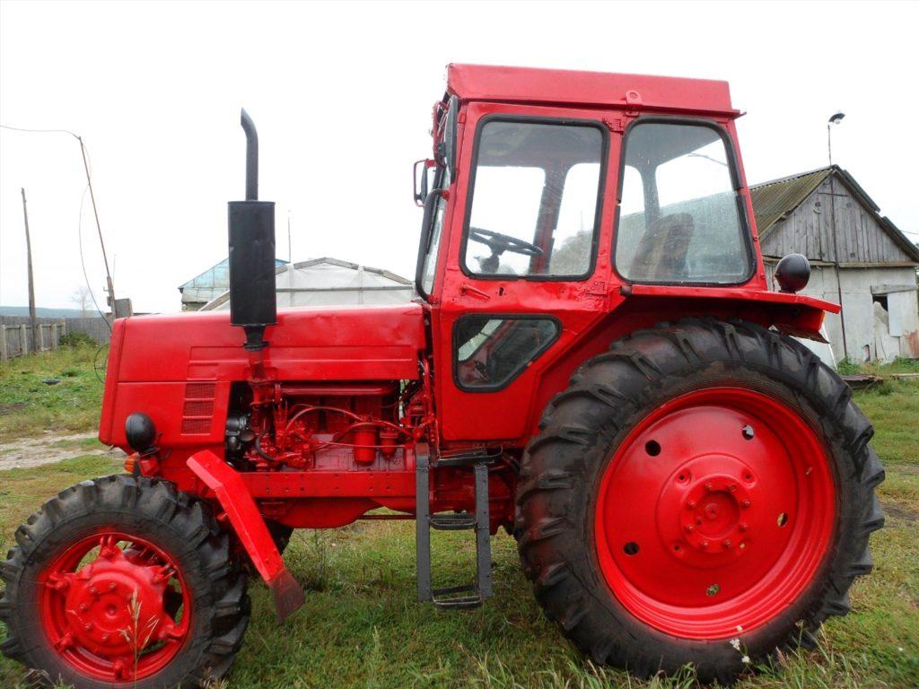 Трактор ЛТЗ 55