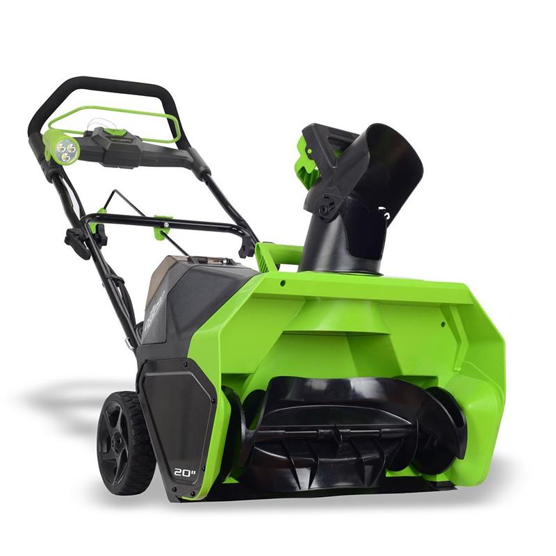 Аккумуляторный снегоуборщик GreenWorks GD40ST