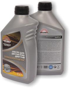 Моторное масло Vitals Semisynthetic
