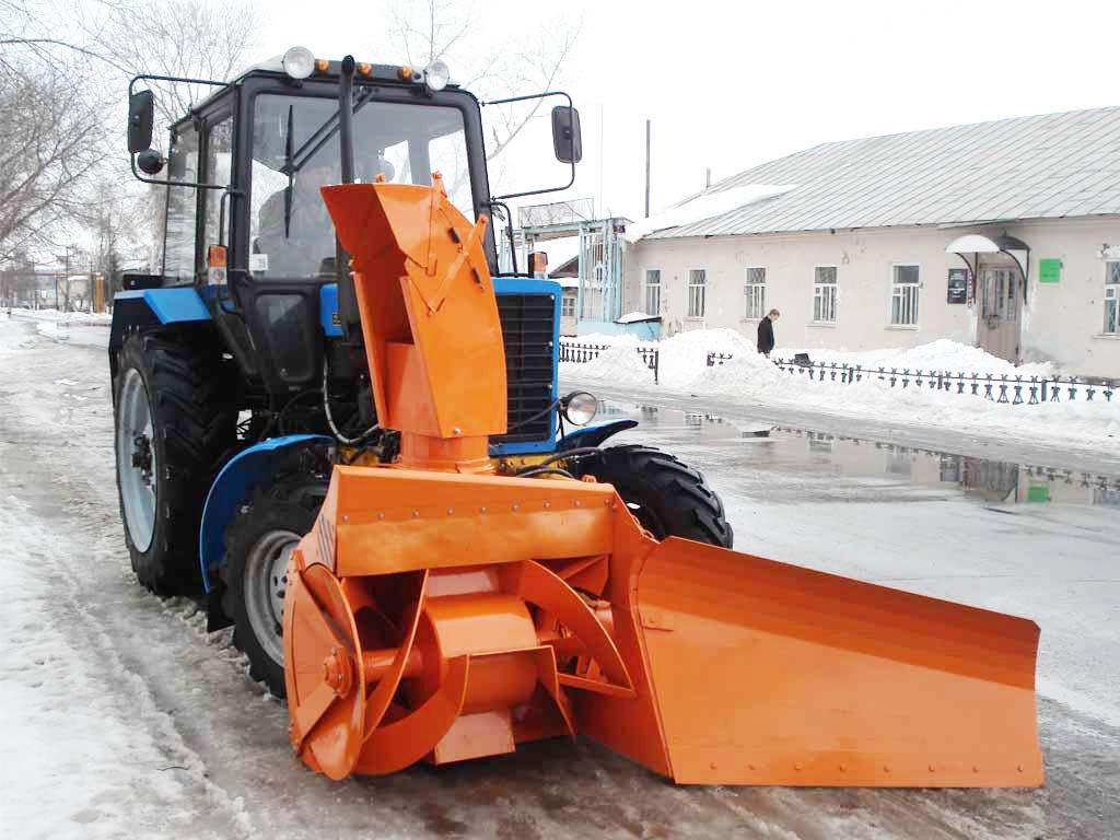 Навесная снегоуборочная машина СУ 2.1