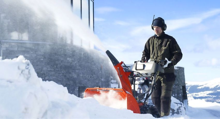 Снегоуборщик Husqvarna ST 261E