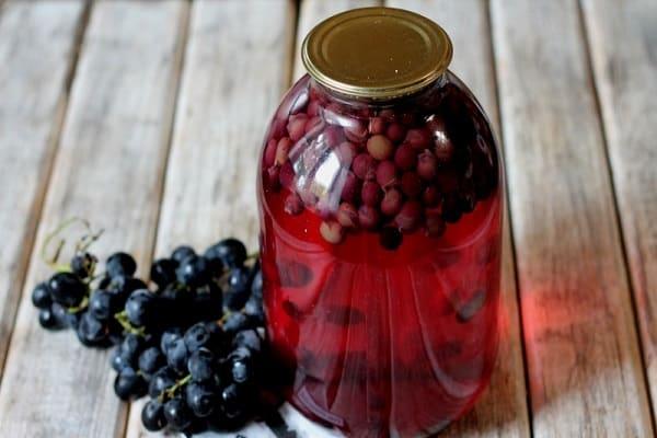 виноград изабелла рецепты